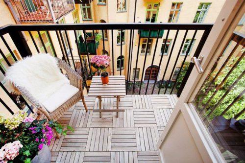 50 idėjų mažam balkonui