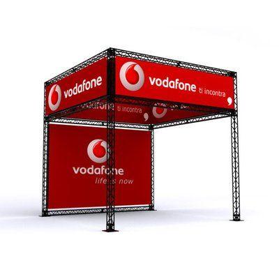 Mobilios stendų konstrukcijos X – parodoms, mugėms, renginiams