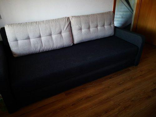 Pilka Sofa-lova