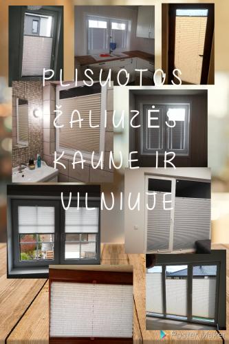 Tobulos plisuotos žaliuzės Kaune, Vilniuje ir aplinkiniuose rajonuose