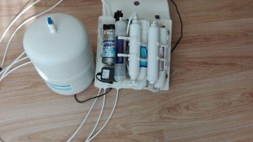 Atvirkštinio osmoso vandens valymo sistema