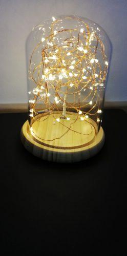 Namų dekoratyvine lempa