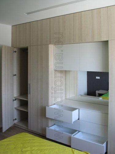 Virtuvės, biuro, miegamojo, jaunuolio, svetainės, prieškambario baldai, spintos, drabužinės, lentynos…